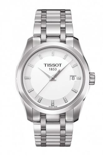 tissot couturier zafiro reloj mujer t035.210.11.016.00