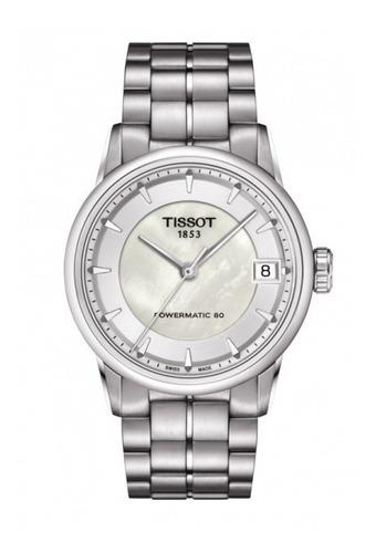 tissot luxury powermatic 80 reloj mujer t086.207.11.111.00