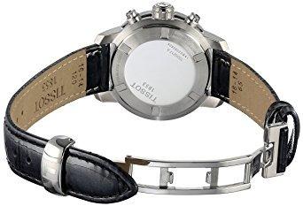 tissot mujeres display t reloj analógico de cuarzo negro