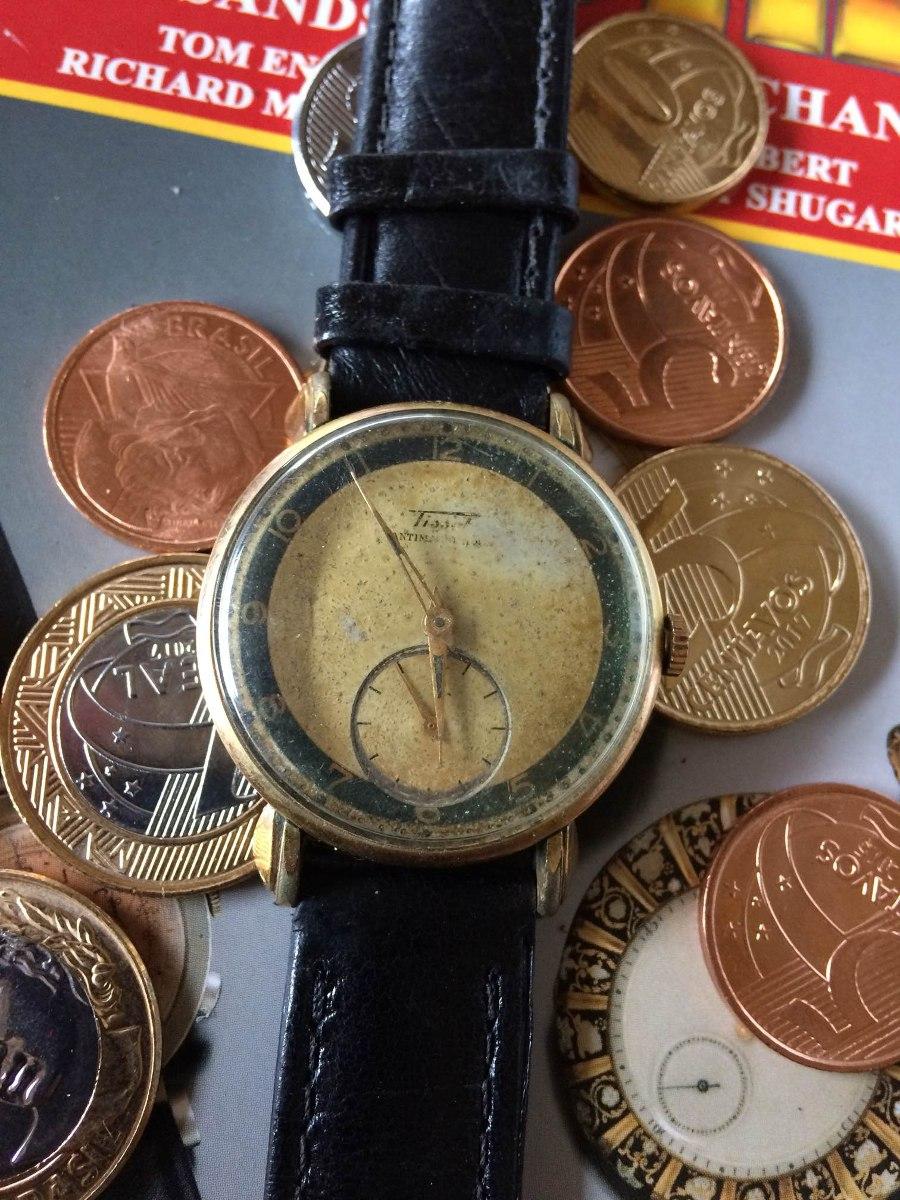 93fa448d03c Tissot Pata De Caranguejo (no Estado) Leia Descrição - R  599