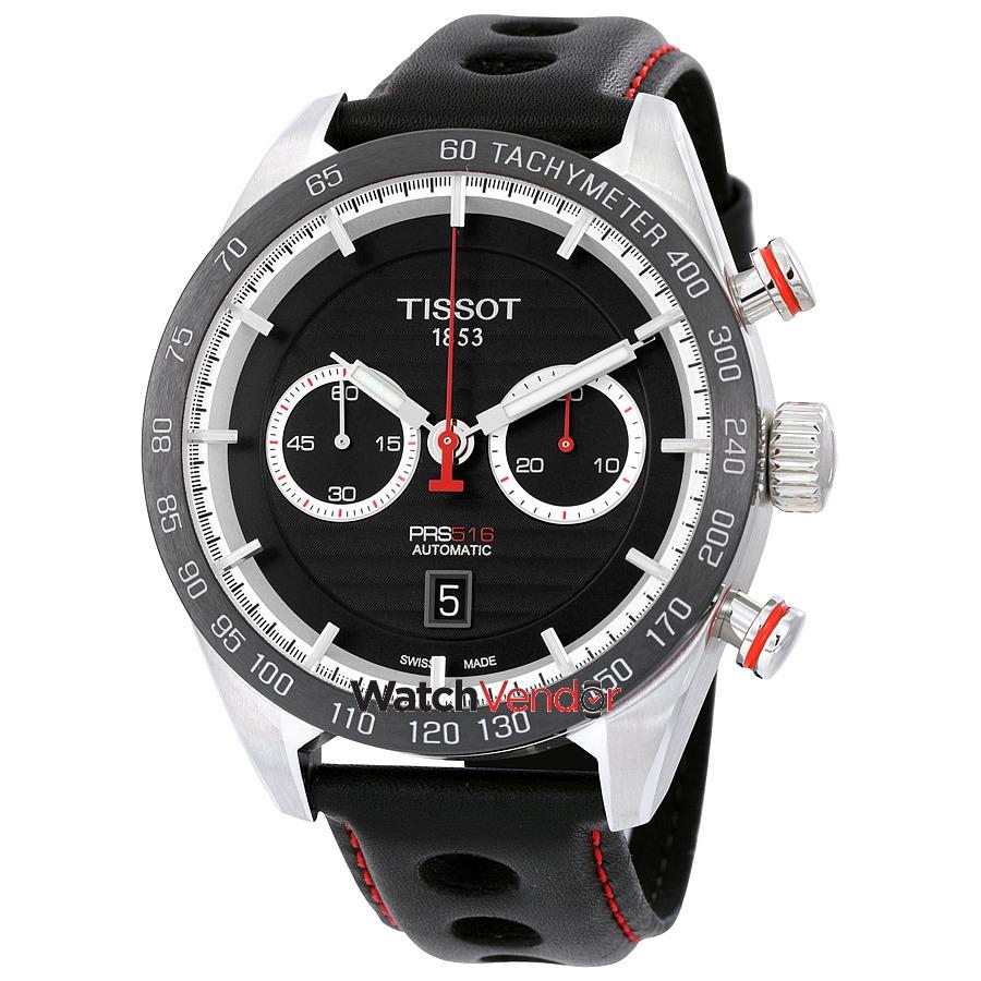 12cc94642139 tissot prs 516 cronógrafo reloj automático para hombre... Cargando zoom.