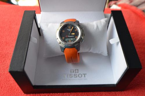 tissot t-touch t33.1.498.59 compass watch