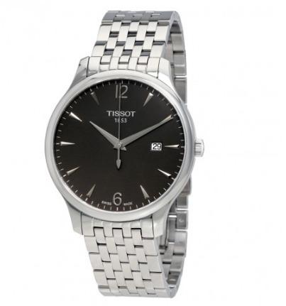 tissot t0636101106700 tradition silver reloj hombre