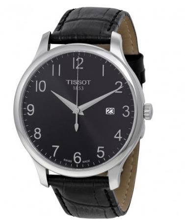 tissot t0636101605200 tradition silver reloj hombre