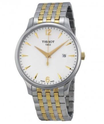 tissot t0636102203700 tradition silver reloj hombre