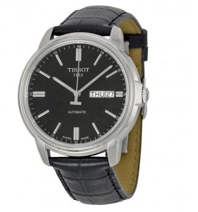tissot t0654301605100 automatic iii black reloj hombre