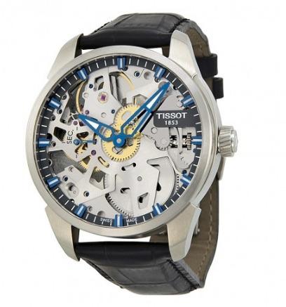 tissot t0704051641100 t-complication squelette reloj hombre