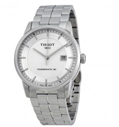 tissot t0864071103100  luxury powermatic 80 reloj hombre