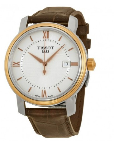 tissot t0974102603800 bridgeport reloj hombre
