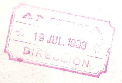 tita merello. fotografía original. 1933.