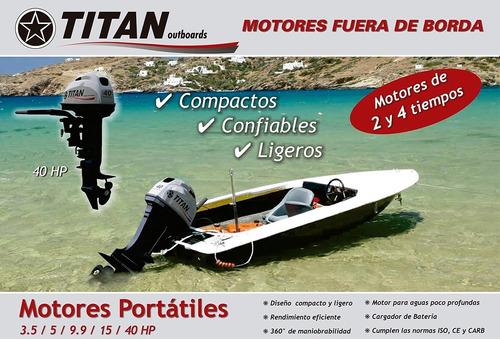 titán 40 hp con powertrim arranque eléctrico