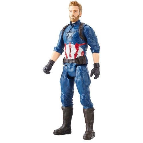 titan hero figura captain america 12 pulgadas powerfx