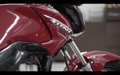 titan motos. honda