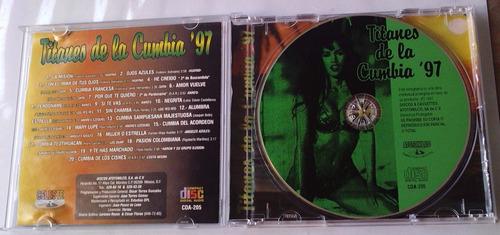 titanes de la cumbia 97 cd rarisimo atotonilco discos