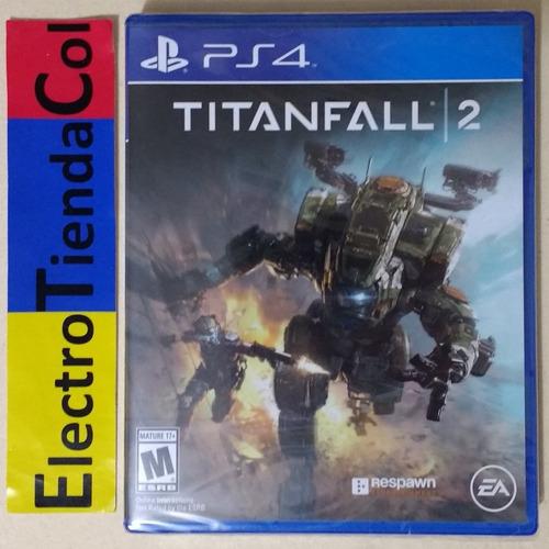 titanfall 2 ps4 físico nuevo sellado español