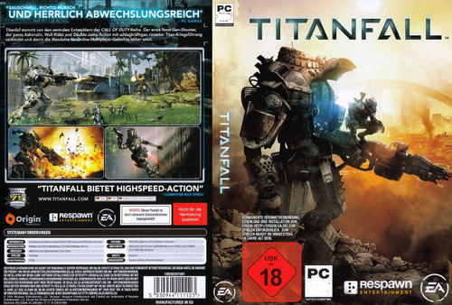 titanfall pc - origin key - entrega inmediata