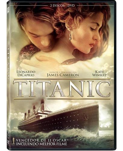 titanic - dvd duplo - leonardo dicaprio - kate winslet