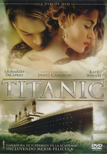 titanic leonardo dicaprio pelicula dvd