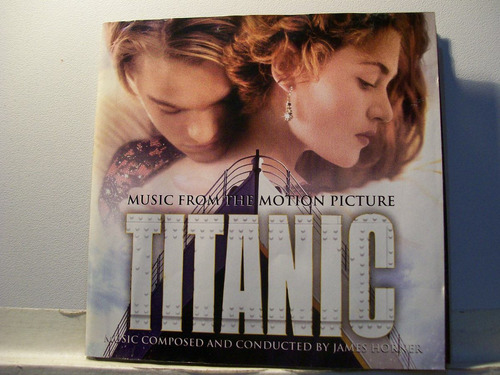 titanic, trilha sonora filme, 1997 cd original raro