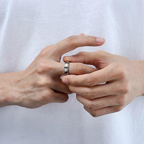 titanio joyerí anillo