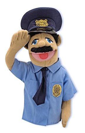 titere policia oficial melissa & doug