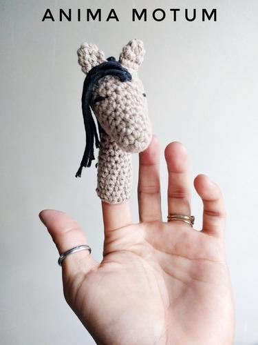 titeres de dedo crochet  anima motum
