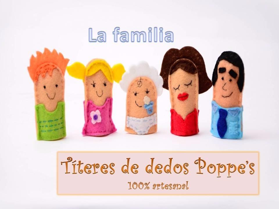 3ba7585ebd1 Titeres De Dedo La Familia -   300