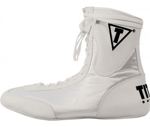 title lo top zapatos botines box negros