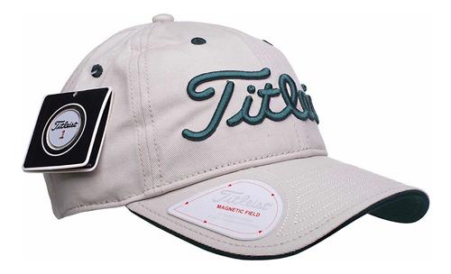 titleist gorra de golf con marcador de bola