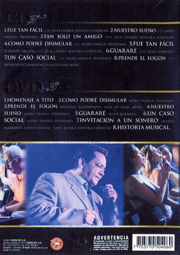 tito gomez un legado musical dvd