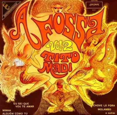tito madi    -    a fossa volume 2  -  lp  - 1972  - stereo