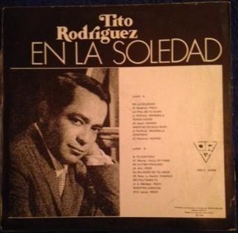 tito rodriguez, en la soledad vinilo colombia 1980
