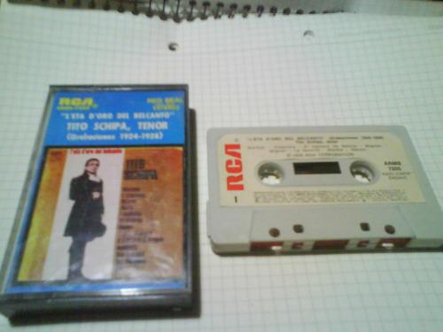 tito schipa tenor cassette nacional