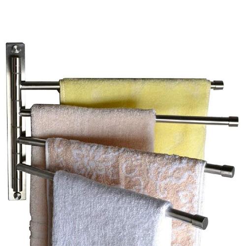 titular estante toalla cocina cuarto de baño con 4 bares ,