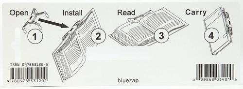 titular flipklip caminadora libro, dark blue (1-pak)