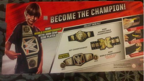 titulo cinturon wwe campeonato mundial de mattel