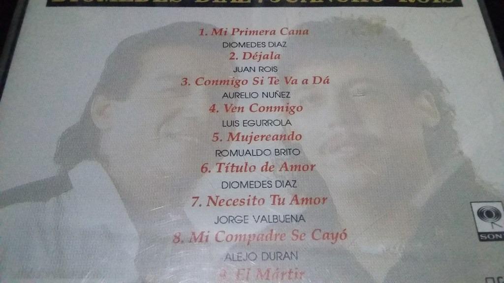 Titulo De Amor Diomedes Diaz Juancho Rois Cd Vallenato - $ 19 000
