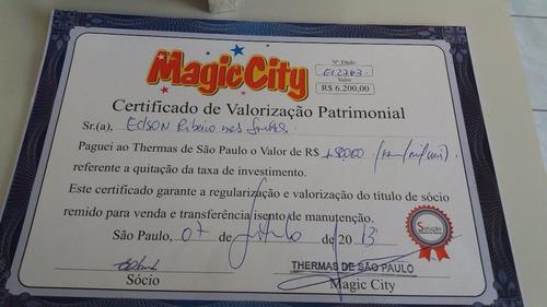 titulo remido do clube tematico magic city