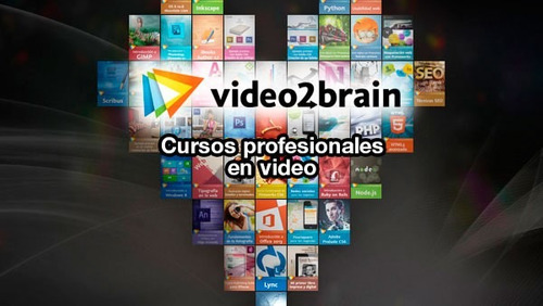 titulos curs video2brain | precio c/u | envío digital
