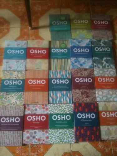 titulos diversos de la colección osho