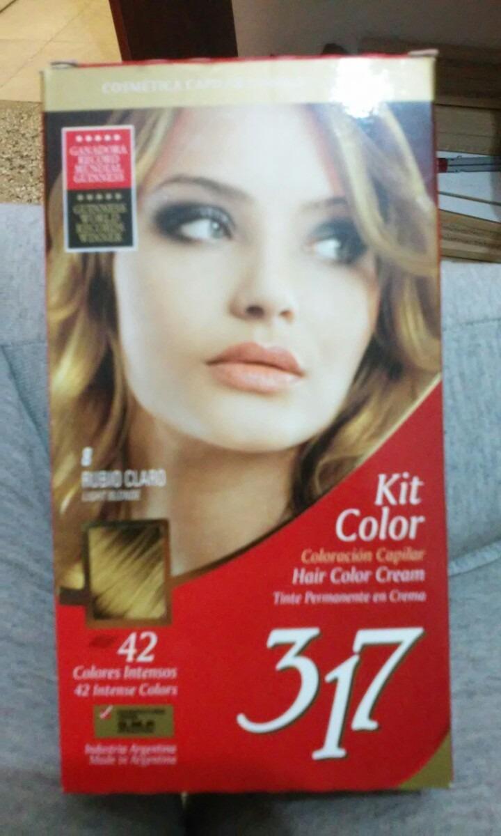 Carta de colores para el cabello 317