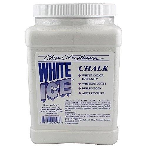 tiza para grooming  (white ice chalk)