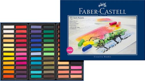 tiza pastel blando creative faber castell x 72 microcentro