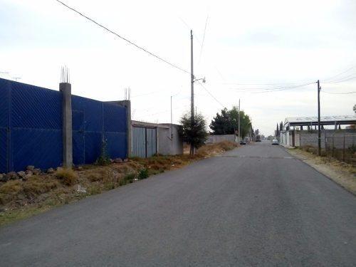 tizayuca terreno  320 mts con construcción en obra negra