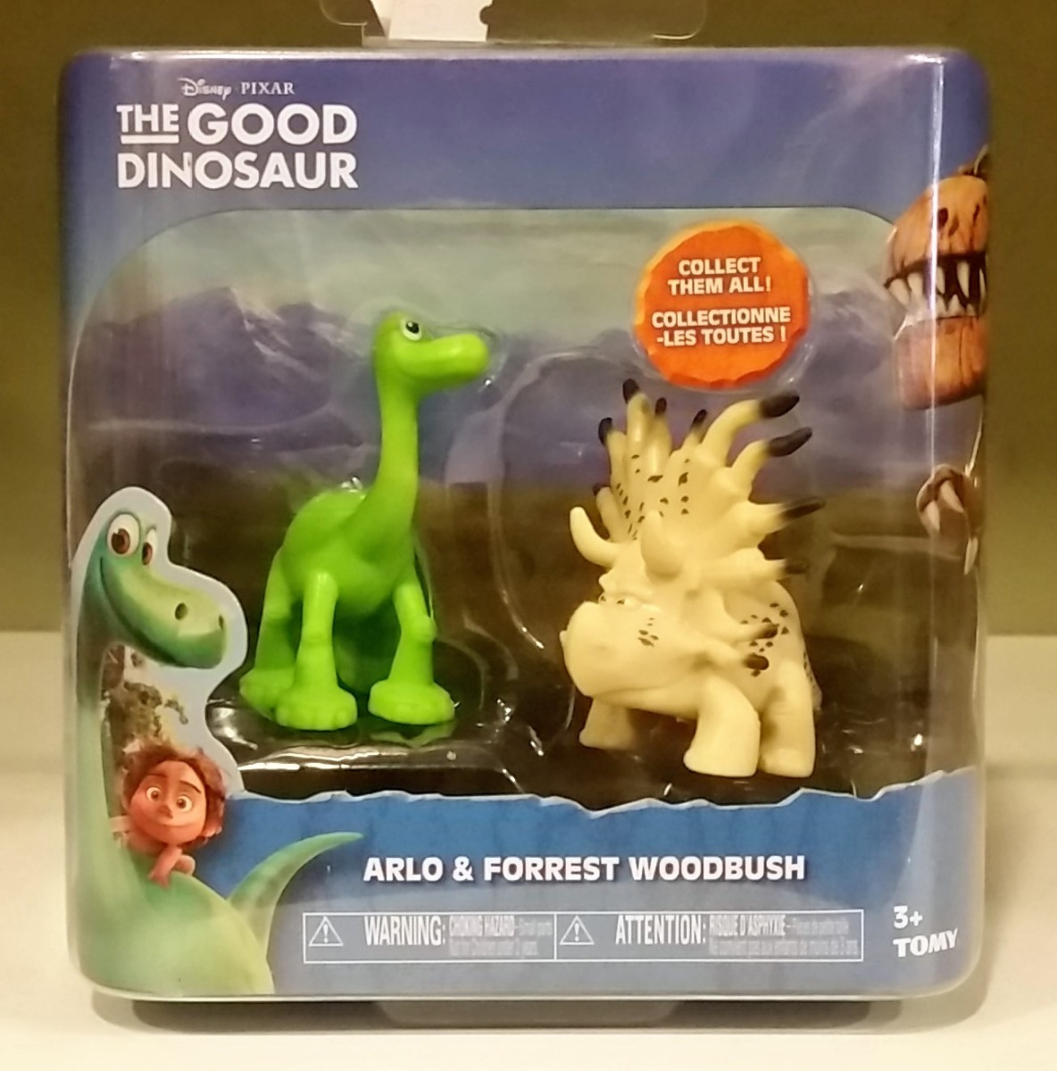 tk0 disney pixar good dinosaur 2pk arlo forrest woodbush r 59