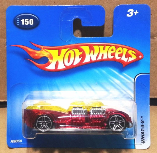 tk0c car hot wheels 1:64 2005 basic what-4-2 #150