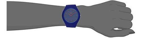 tko unisex sports rubber band fun blue ice watch tk643bl