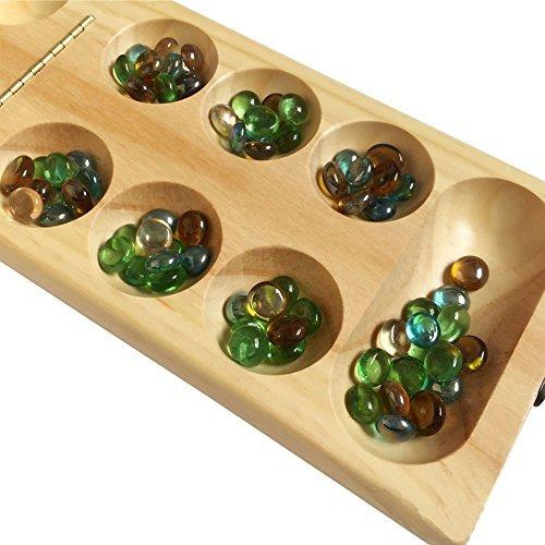 tl mancala juego juego de mesa mancala plegables de madera m