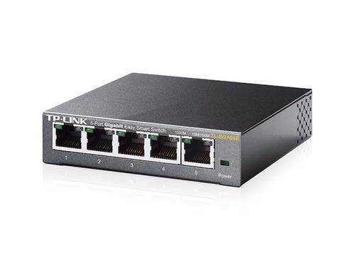 tl-sg105e switch administrable gigabit de 5 puertos tp-link