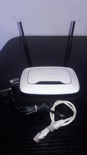 tl-wr841n router wi-fi configurado listo para usar
